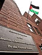 La bandiera palestinese a Washington