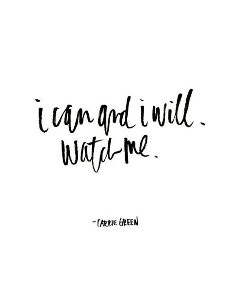 Inspirational And Motivational Quotes :I Can and I Will
