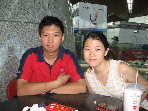 Before going to Japan, at KLIA