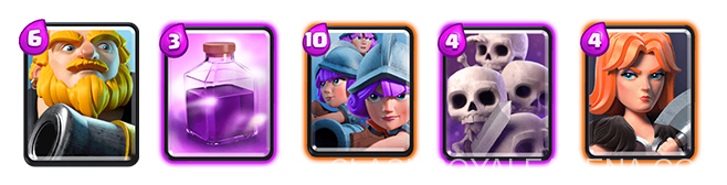 Worst Cards in Clash Royale