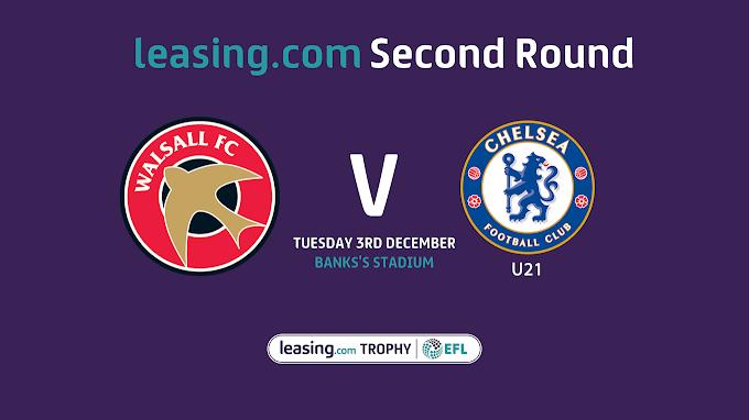 EFL Trophy: Chelsea U21 Fixture Update & Ticket News