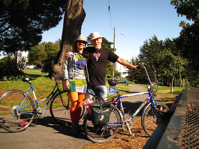 Chris y yo en Alta plaza park