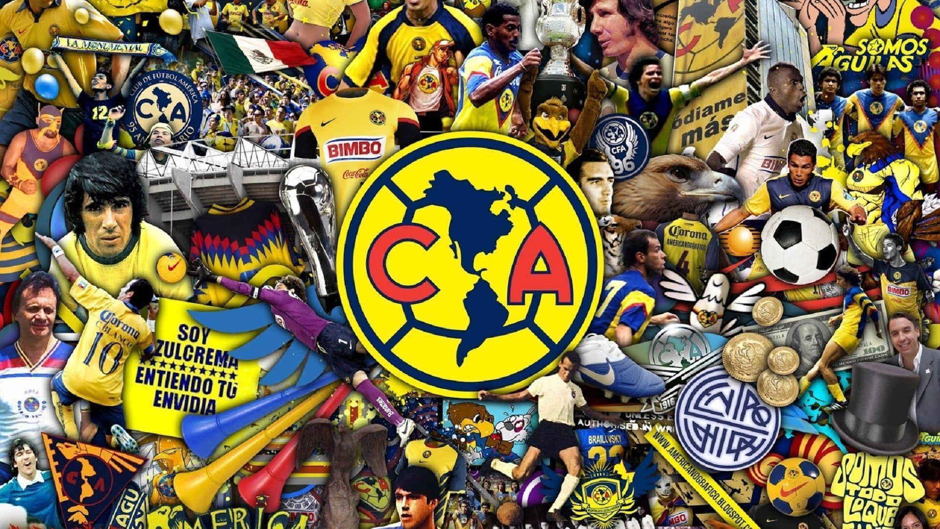 Club América Wallpapers - Wallpaper Cave