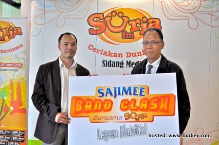 SajiMee Band Clash Layan Habiiis Suria FM