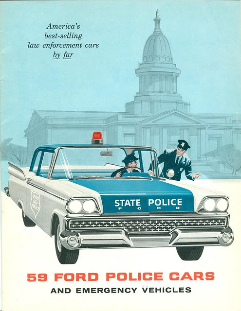 1959 Ford Police Car Brochure
