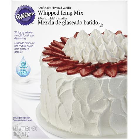 Whipped Icing Mix   Wilton