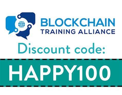 blockchain training alliance discount code code happy