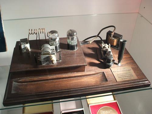 A real conspirator's radio