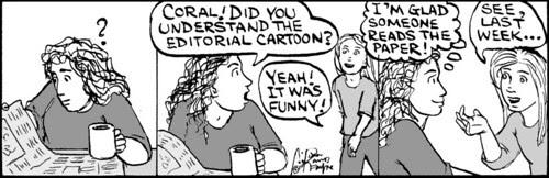 Home Spun comic strip #478