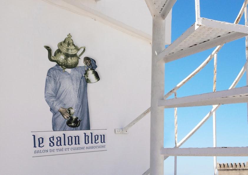 Le Salon Bleu Tea In Tangier
