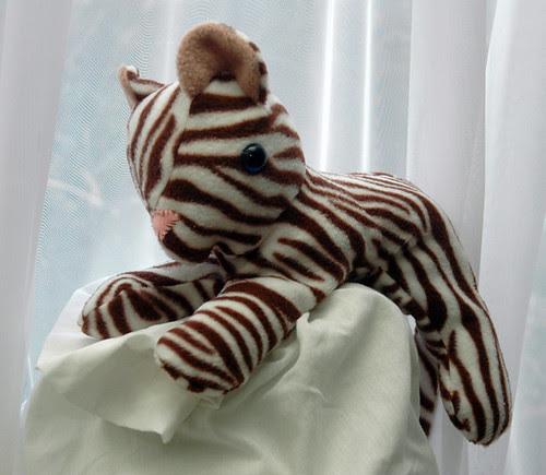 fleecy baby tiger