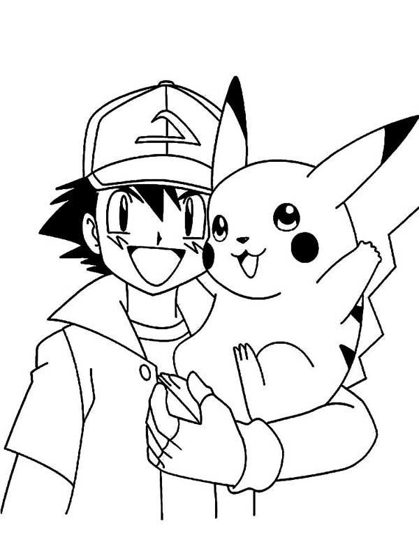 Dibujos Para Colorear Pikachu