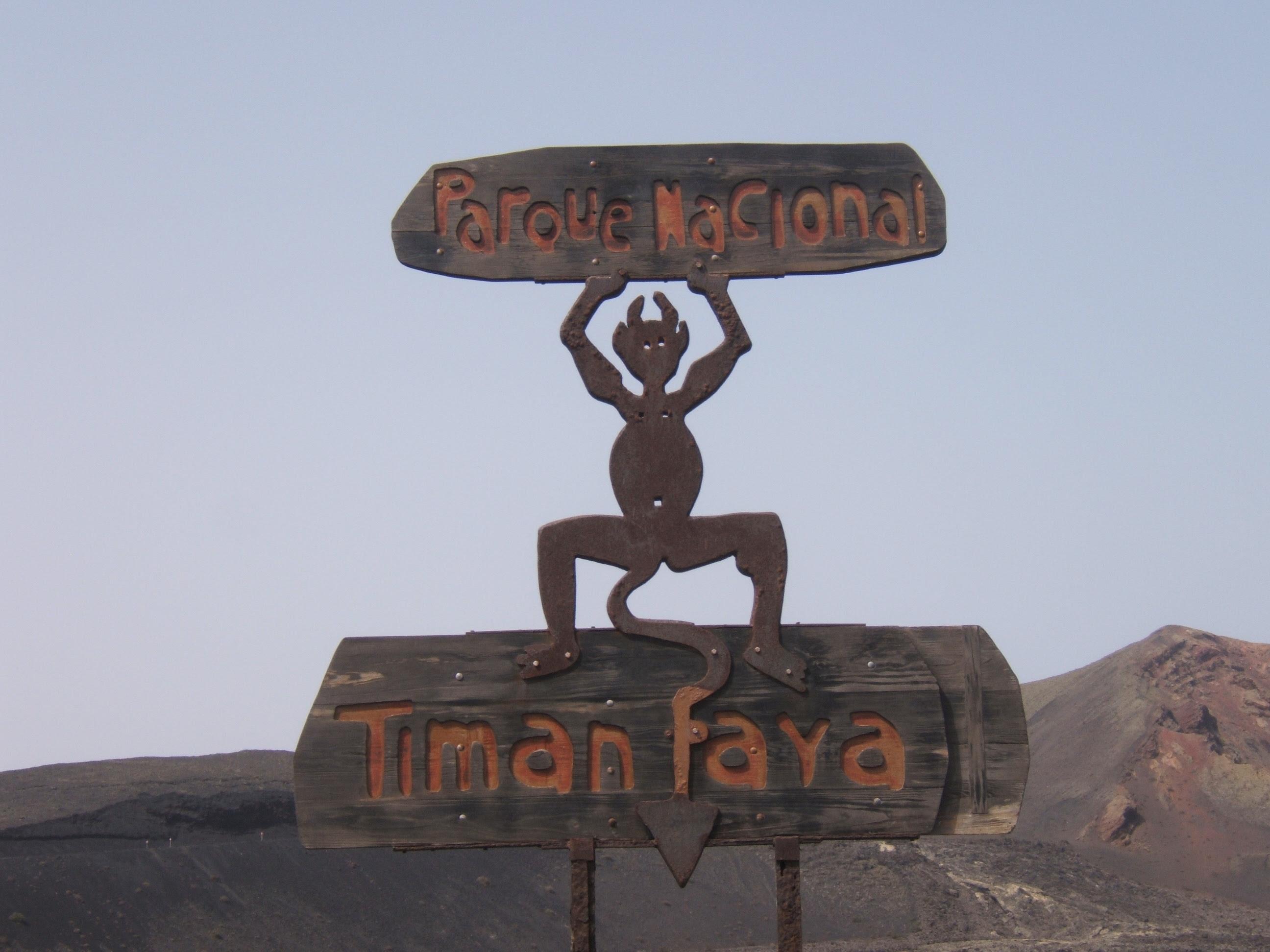 Escultura Timanfaya