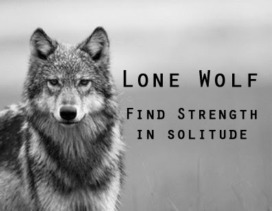 Lone Wolf Strength In Solitude Be Free Today Performance Skype