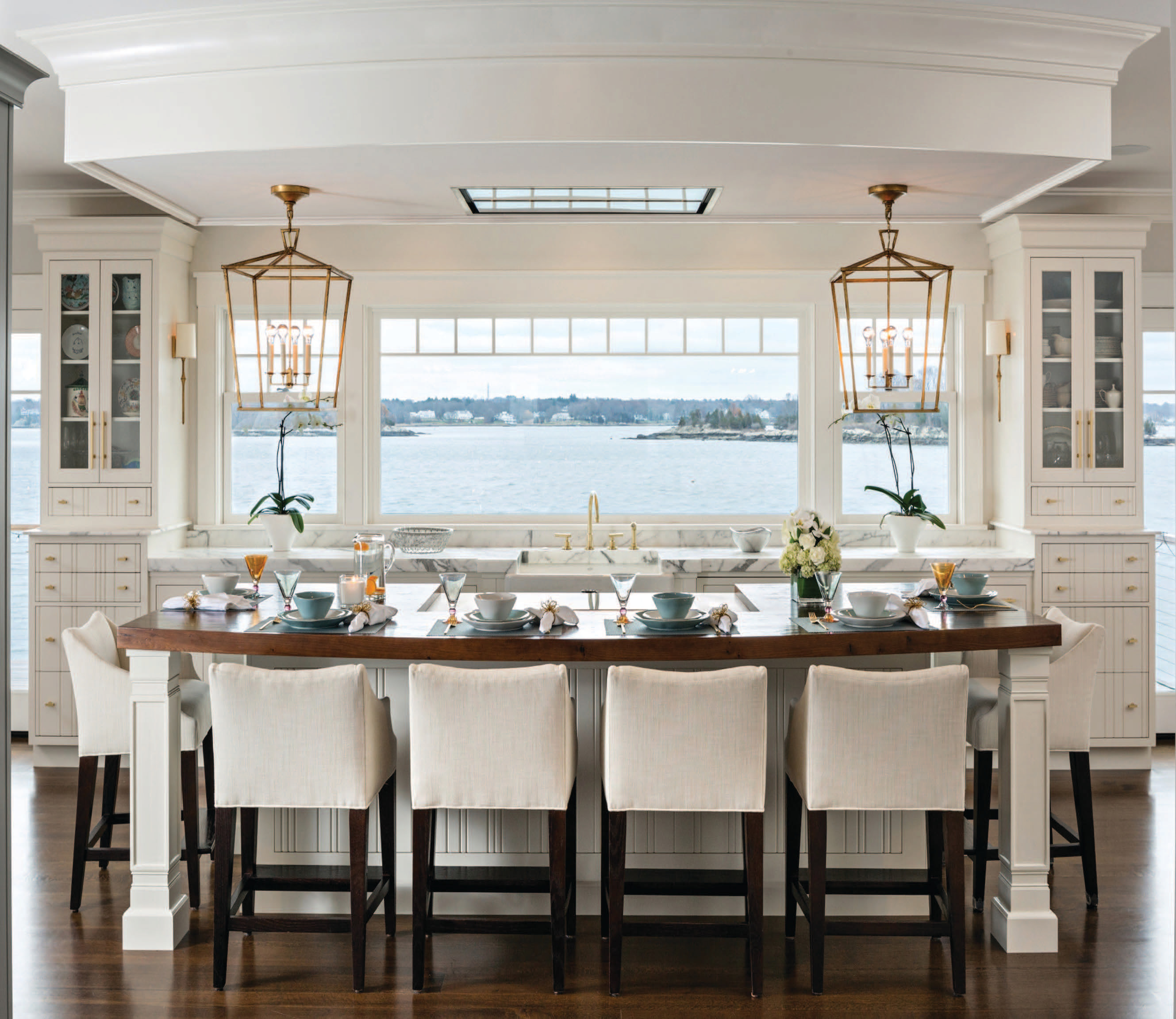 A Closer Look Roomscapes Cabinetry Design Center New England Living