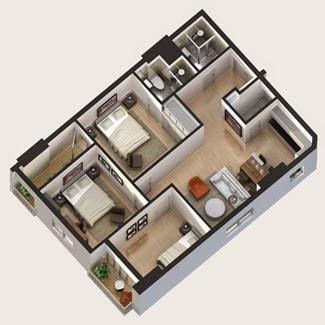 Thiết kế một căn hộ tại chung cư Bright City