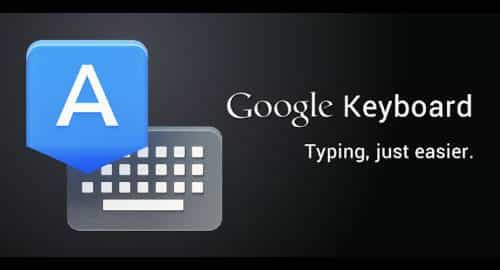 Teclado do Google