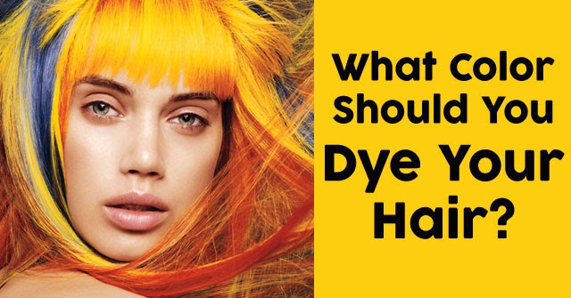 What Color Should You Dye Your Hair?   QuizDoo