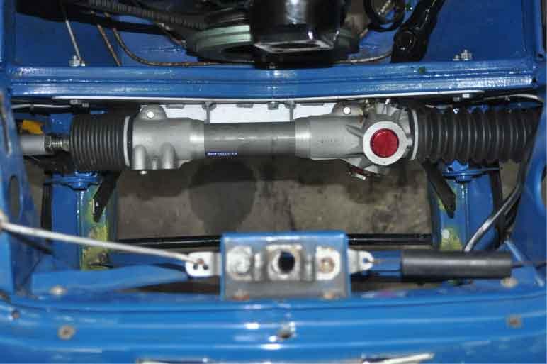Brittanicar Austin Healey 3000 Steering Rack Conversion