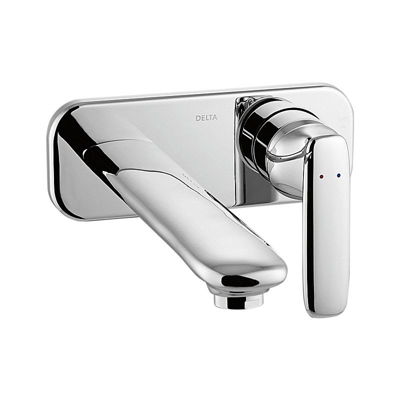 T31338 Wl Andian Single Handle Wall Mount Bathroom Faucet Trim