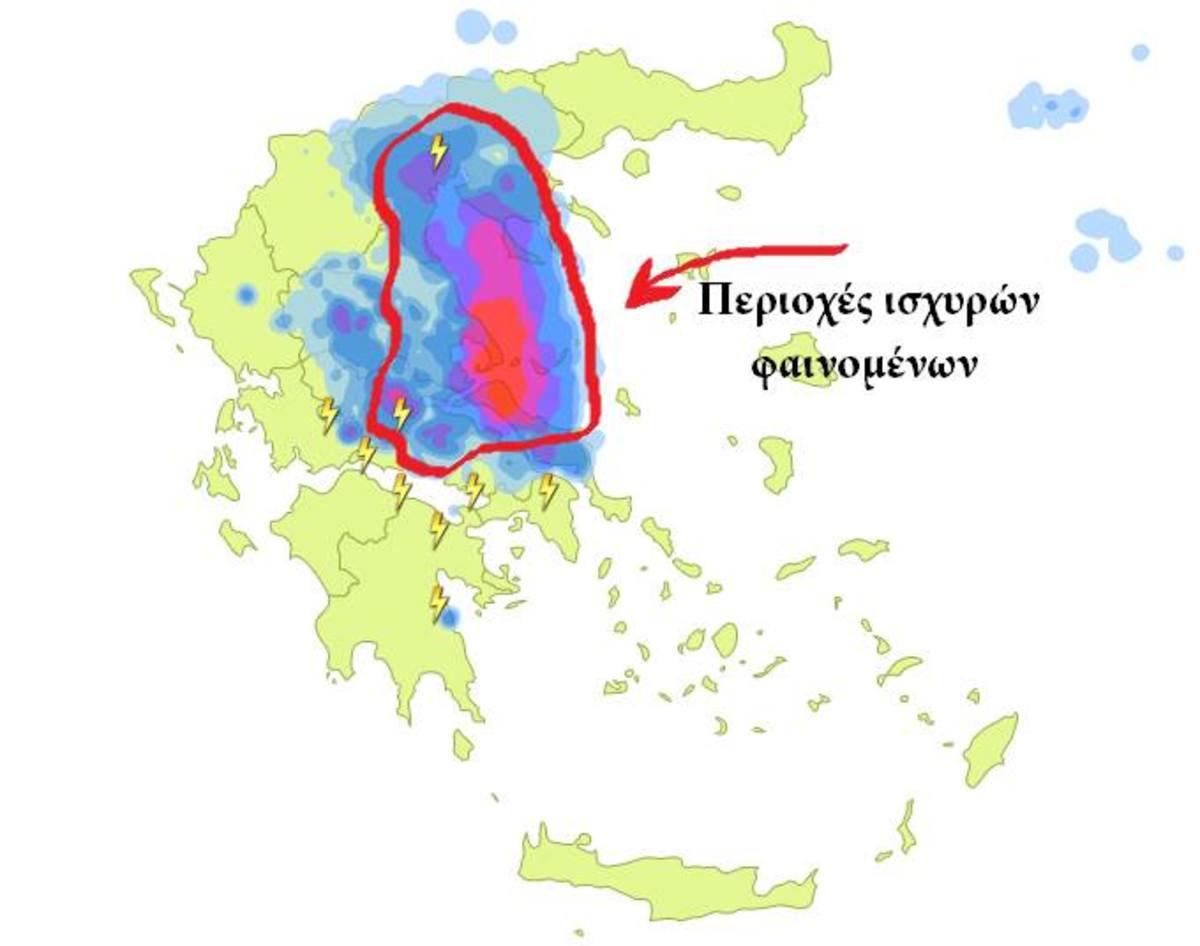 Καιρός – Καλλιάνος: Έρχεται κακοκαιρία εξπρές! Που θα χτυπήσει | Newsit.gr