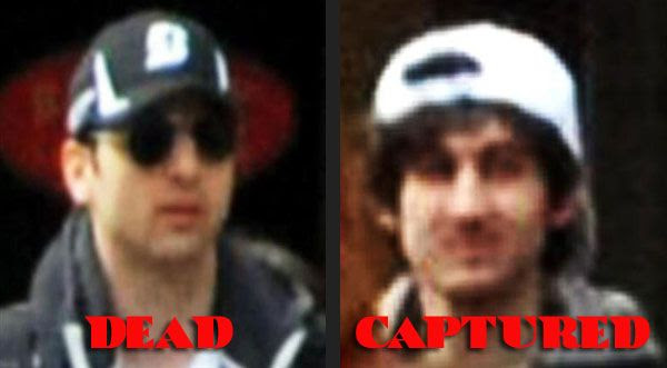 The suspects behind last Monday's Boston Marathon bombing are finally neutralized...as of April 19, 2013.