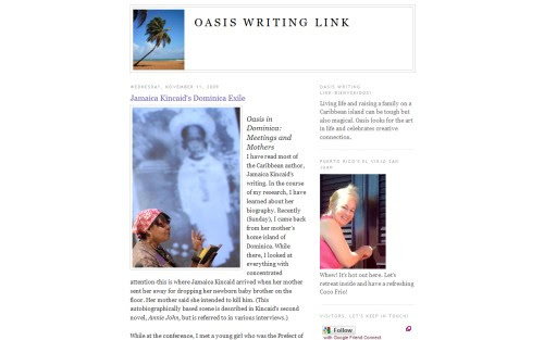 Oasis Writing Link