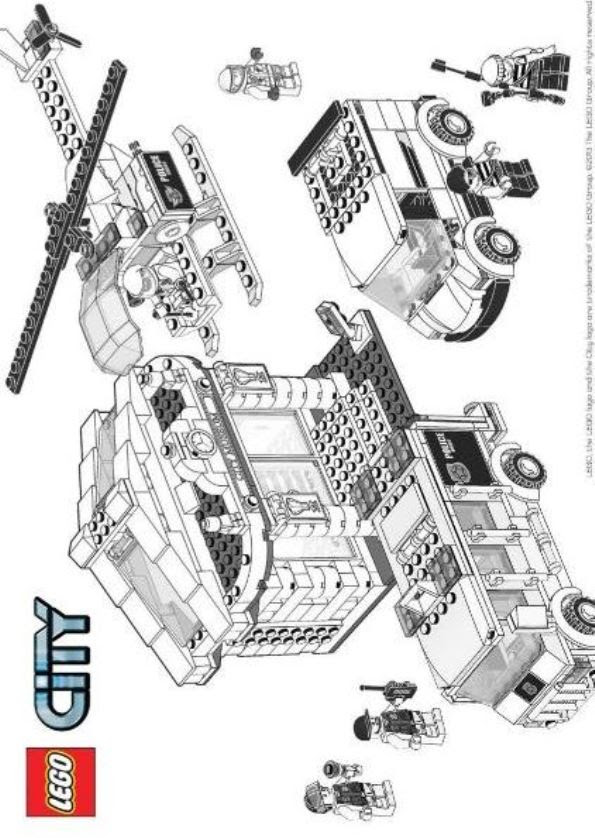 Malvorlage - Lego city ausmalbilder 7dxyz