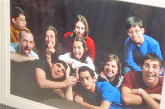 Rombro Grandchildren being Silly