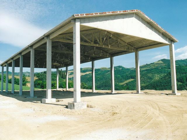Miniescavatore capannoni agricoli usati for Capannoni in legno prezzi