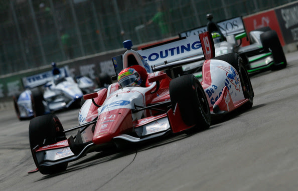 Justin Wilson - Chevrolet Detroit Belle Isle Grand Prix - Day 2