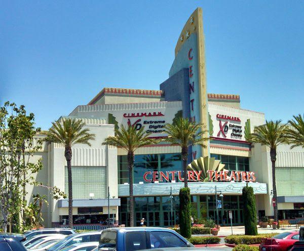 The Cinemark Century Stadium 25 and XD theater in Orange County, CA.