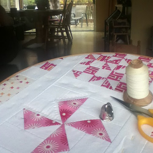 Finally Started Quilting....