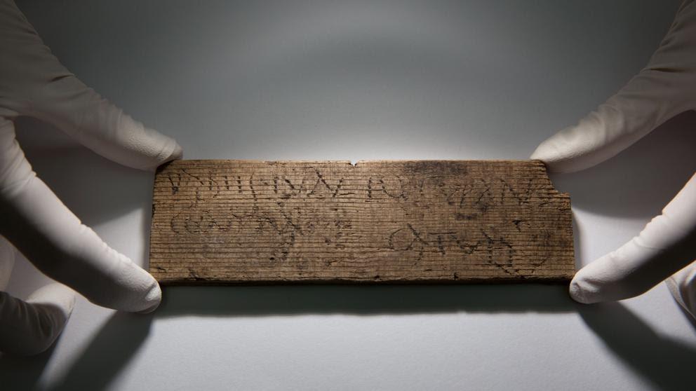 Hallado en Londres el documento manuscrito más antiguo de la Gran Bretaña