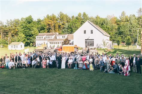 Sullyfest: A Rustic Barn Wedding in Maine: Barn at