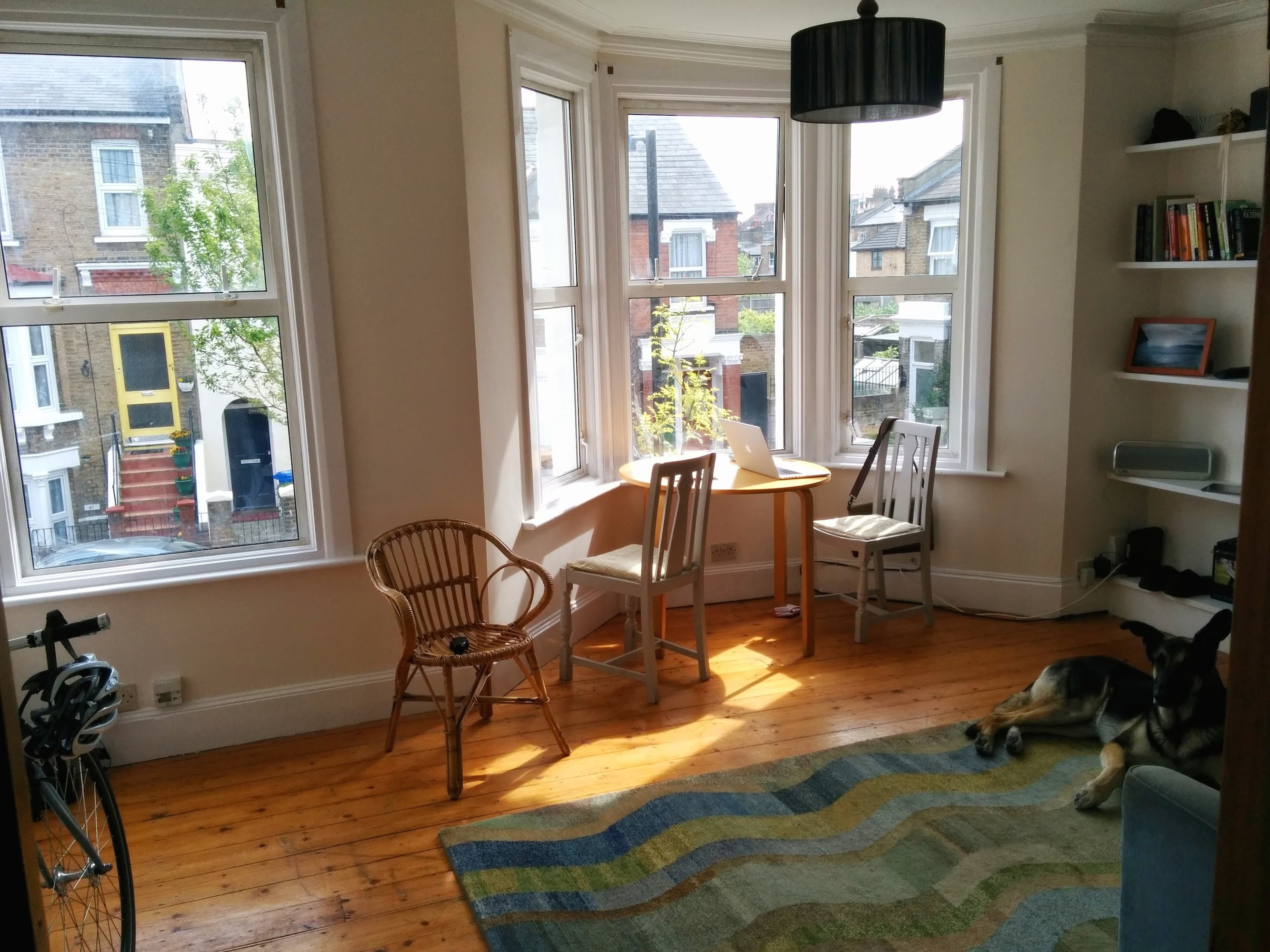 Layout advice for combination living/dining room (hardwood ...
