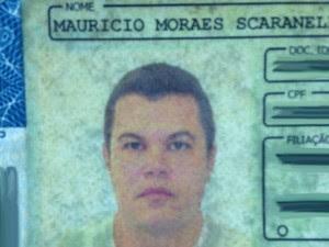 Empresário é preso em Araçatuba suspeito de torturar enteada de 2 anos (Foto: Eduardo Fonseca/TV TEM)