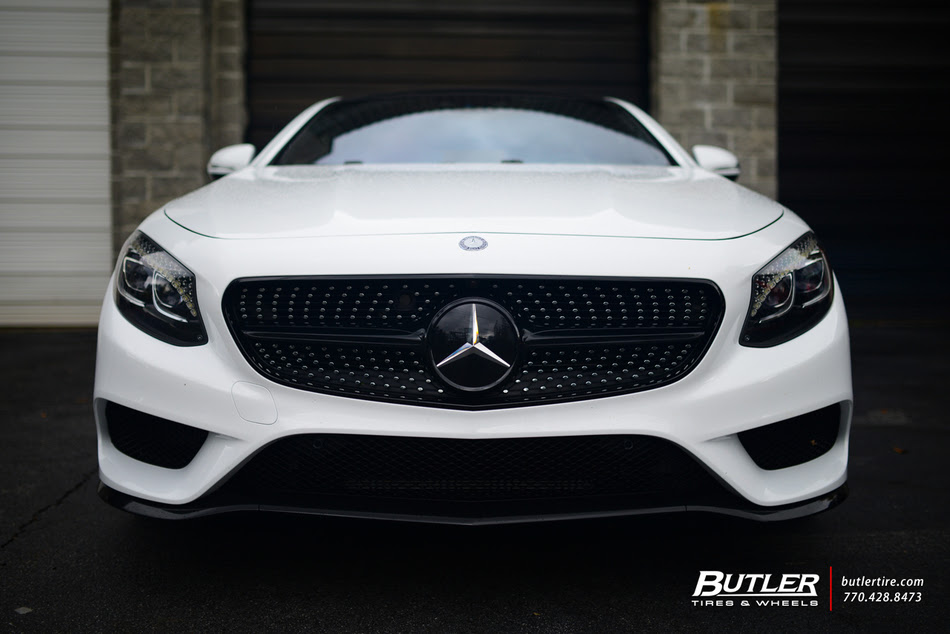 2015 Mercedes S550 Coupe On 22in Custom Forgiato F2 19 Wheels Trending At Butler Tires And