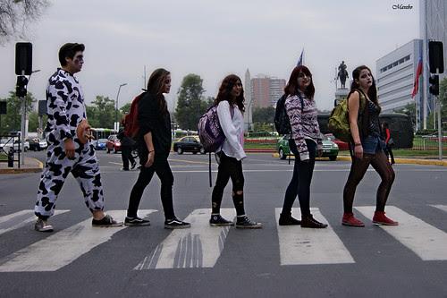 The Beatles Zombie, Zombie Walk 2012 by Alejandro Bonilla