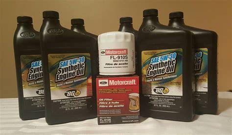 mustang ecoboost focus st oil change kit