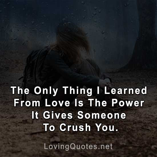 80 Sad Love Quotes That Make You Cry In English