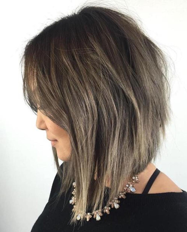 28 Layered  Long  Bob  Hairstyles  and Lob Haircuts  2019