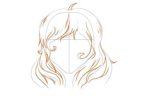 draw anime hair vripmaster