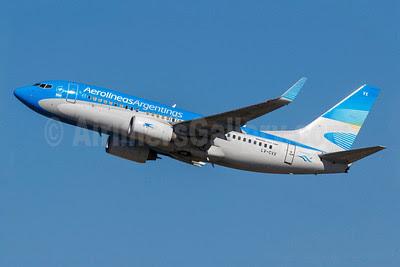 Aerolineas Argentinas Boeing 737-7Q8 WL LV-CVX (msn 30641) GRU (Rodrigo Cozzato). Image: 912853.