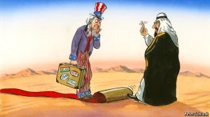 אובמה בדרך לסעודיה