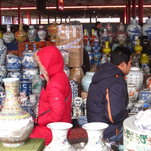 Panjiayuan market, Beijing