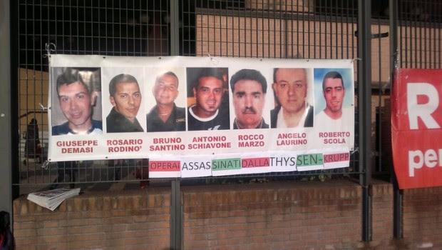 """Leggi, norme e ricorsi che hanno permesso ai manager responsabili dei morti alla Thyssenkrupp di uscire di galera. """"[N]on è socialmente pericoloso e, in carcere, ha mantenuto un comportamento corretto"""" […]"""