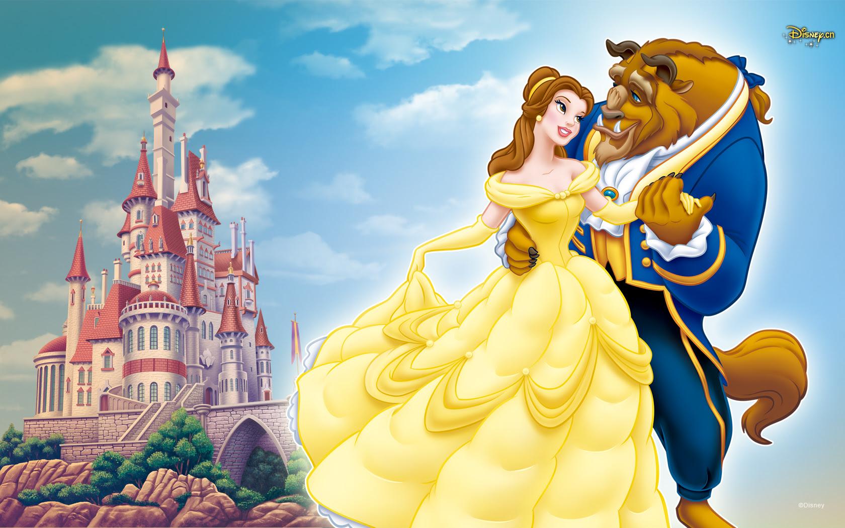 Beauty And Beast 美女と野獣 壁紙 38352214 ファンポップ