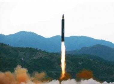 Coreia do Norte diz que míssil pode transportar ogiva nuclear