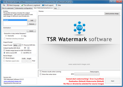 TSR Watermark Image Software 2.4.2.6